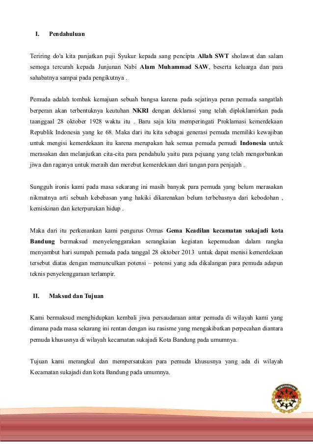 Proposal Turnamen Sepak bola