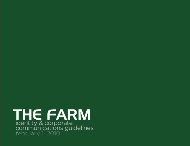 The Farm Brand Story