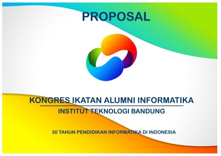 Proposal Kongres Ikatan Alumni IF ITB