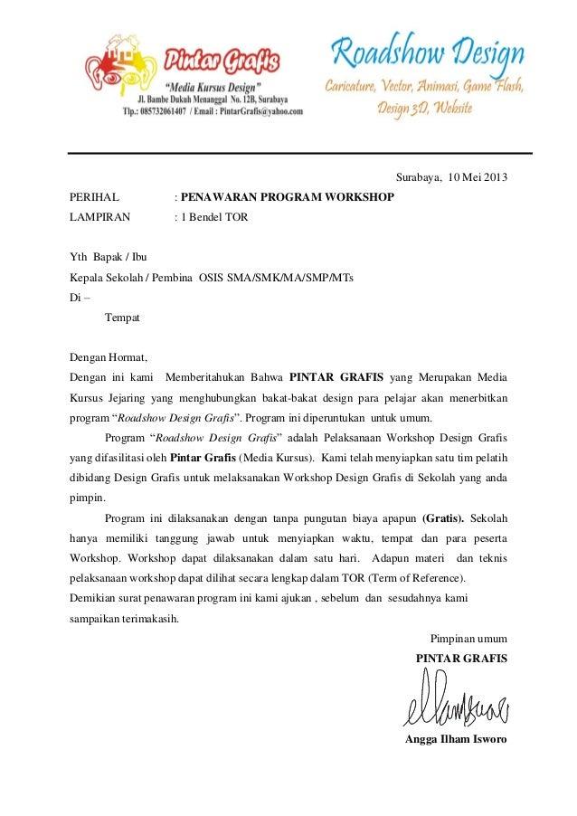 Proposal Penawaran 8 Program Workshop Design - Free ...