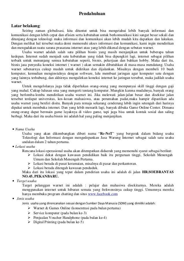 Contoh Proposal Seminar Kewirausahaan Pdf Download Programcount