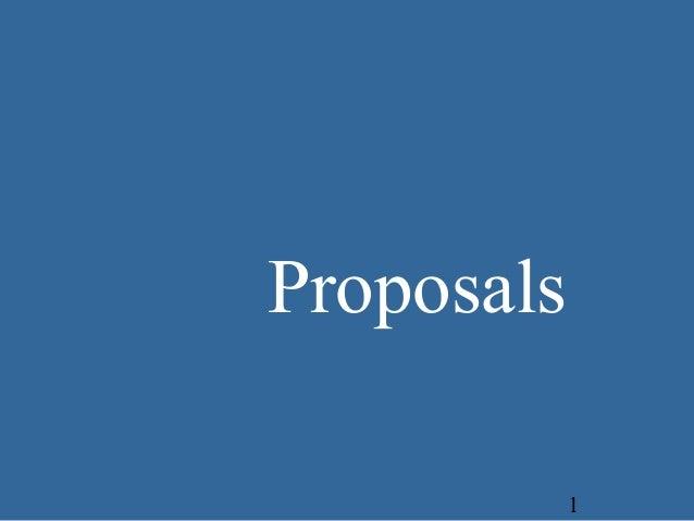 Proposal 2 - Business Communcation