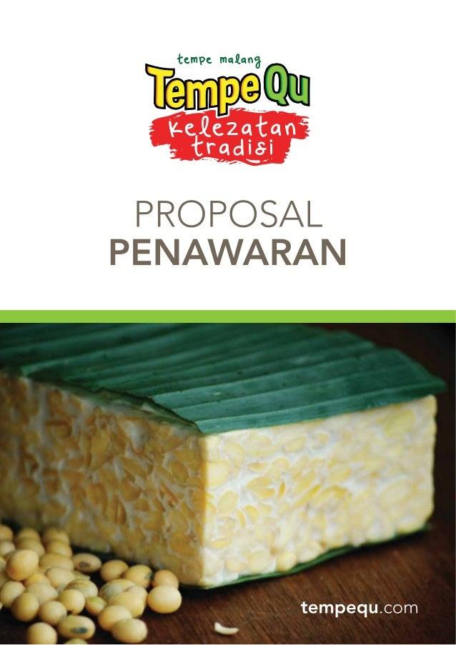 Setelah dengan brand Cak Min dan Arema, Rumah Tempequ sebagai pembuat Tempe Malang yang menghadirkan merk baru, TempeQu. H...