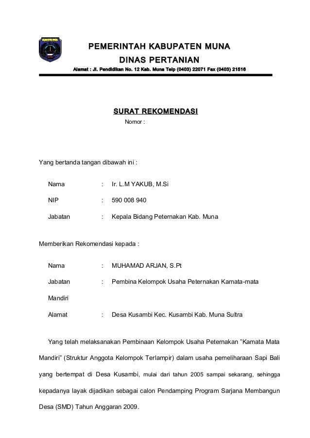 Contoh Surat Himpunan Mahasiswa Islam Slamarker