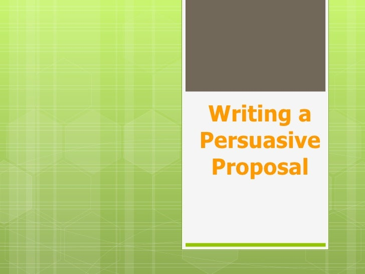 Proposal tips and strategies P.P
