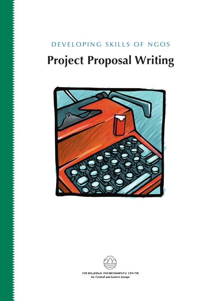 DEVELOPING SKILLS OF NGOS  Project Proposal Writing