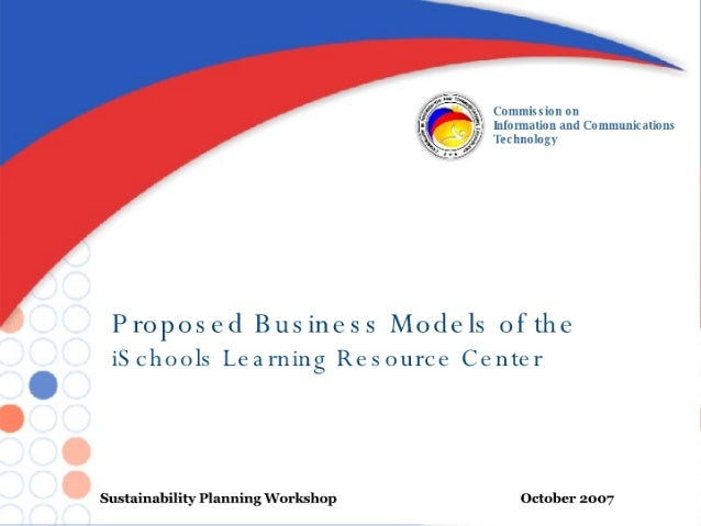 Proposed Business Models