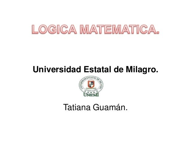 Universidad Estatal de Milagro.  Tatiana Guamán.