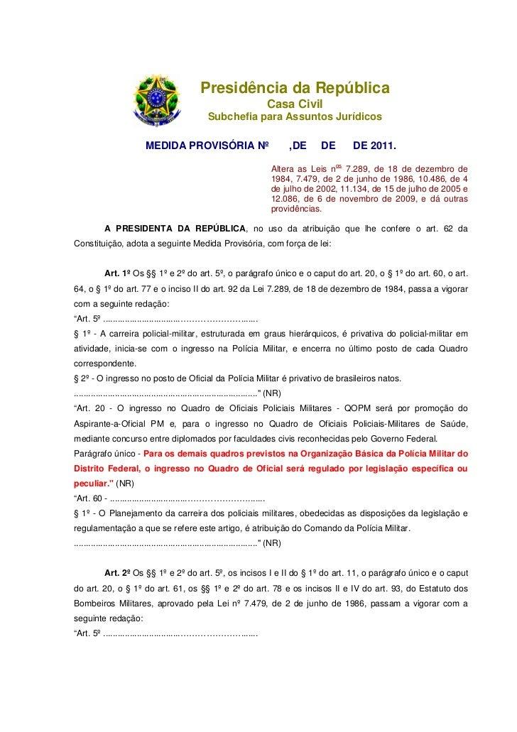 Presidência da República                                                                            Casa Civil            ...