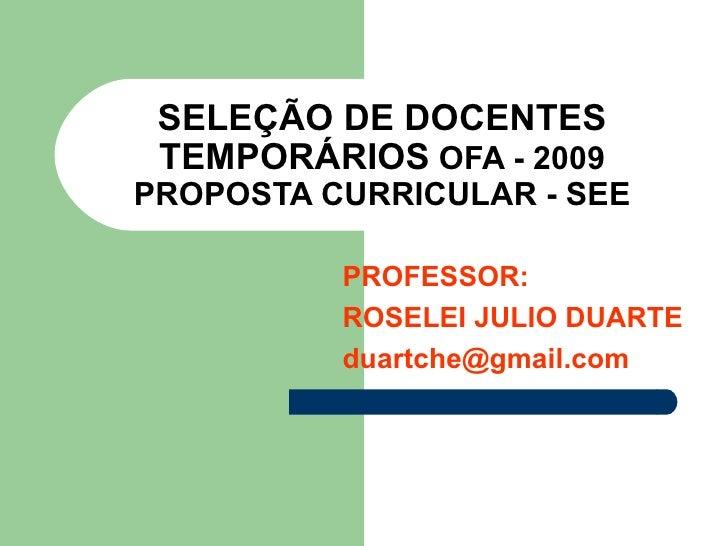 Proposta Curricular Itaqua E Poa 28.11.09