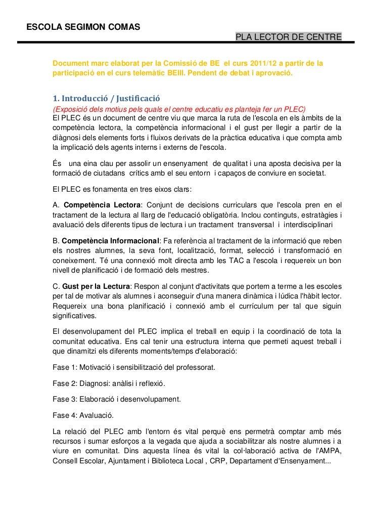 Proposta document plec comissio de be 1112