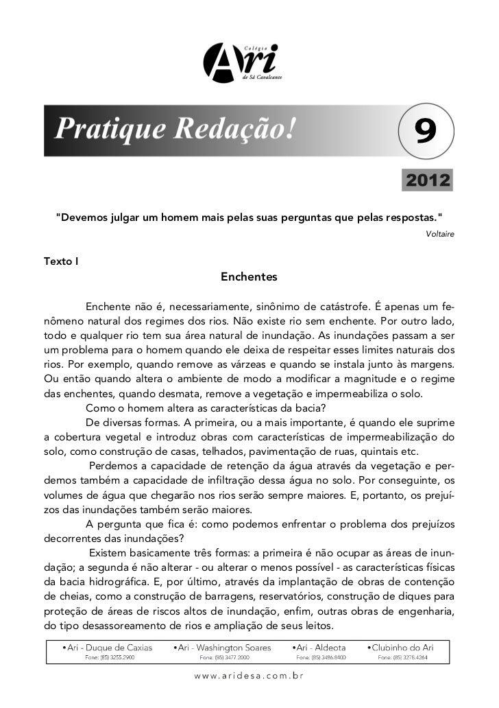 PROPOSTA DE REDAÇÃO 03