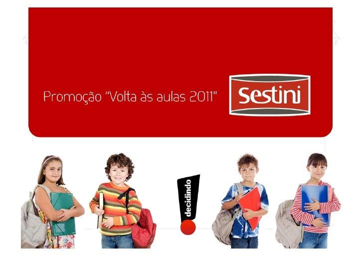 Proposta para promoção de vendas - Sestini