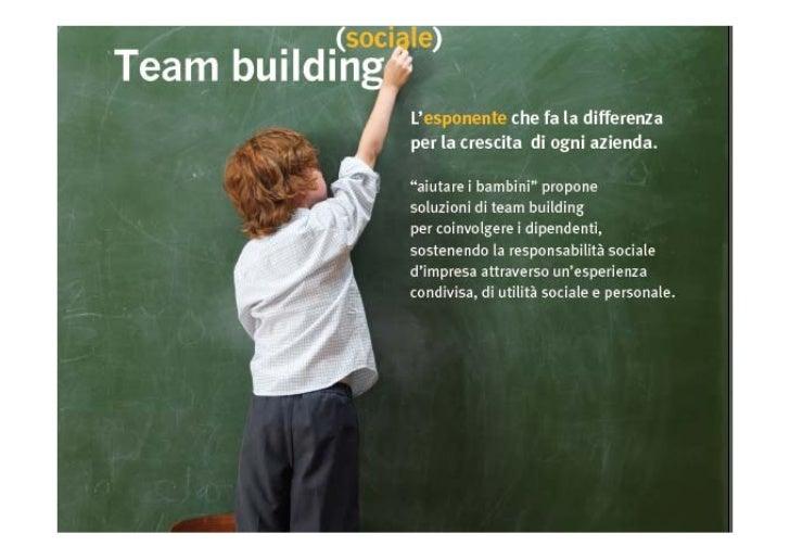 Formazione e Team building