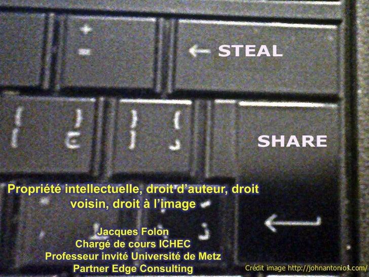 Propriété intellectuelle février 2012