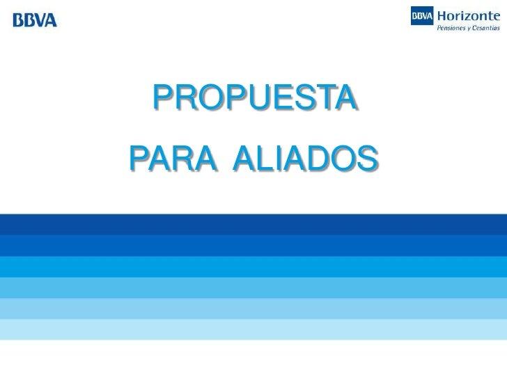 PROPUESTAPARA ALIADOS