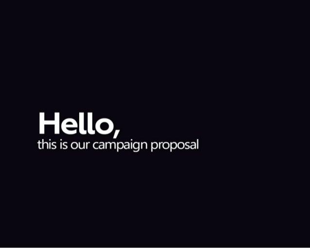 Propuesta de campaña Techo