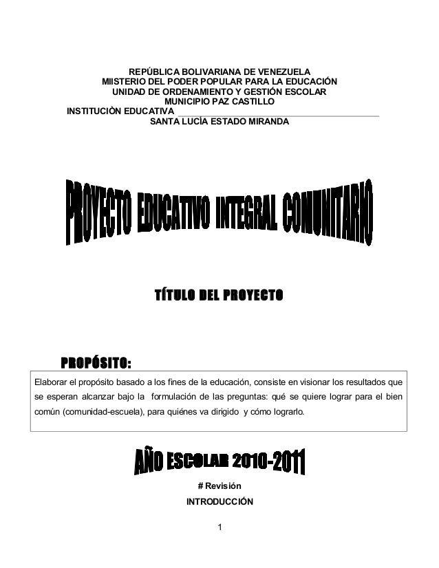 REPÚBLICA BOLIVARIANA DE VENEZUELA               MIISTERIO DEL PODER POPULAR PARA LA EDUCACIÓN                  UNIDAD DE ...