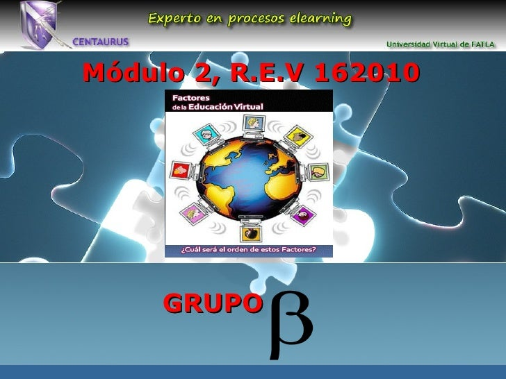 GRUPO Módulo 2, R.E.V 162010