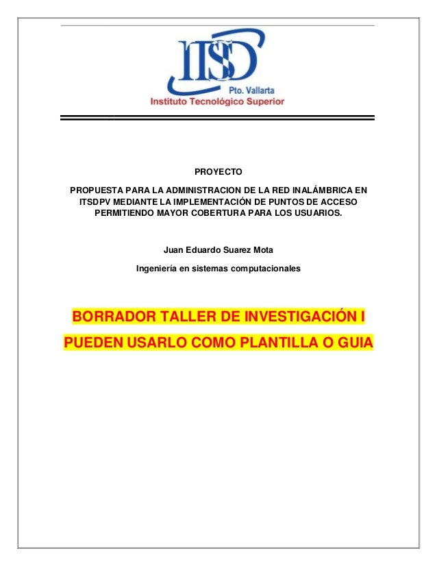 PROYECTO PROPUESTA PARA LA ADMINISTRACION DE LA RED INALÁMBRICA EN ITSDPV MEDIANTE LA IMPLEMENTACIÓN DE PUNTOS DE ACCESO P...