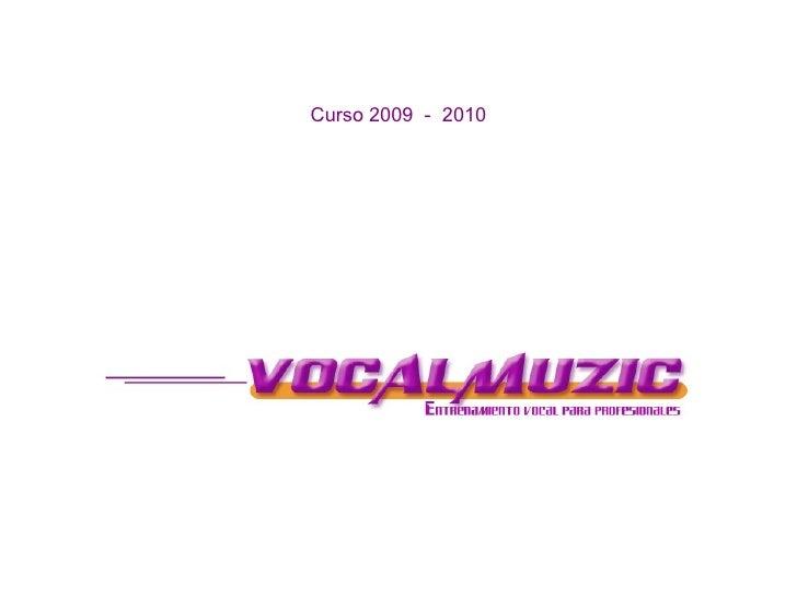 Propuestas Curso 2009   2010