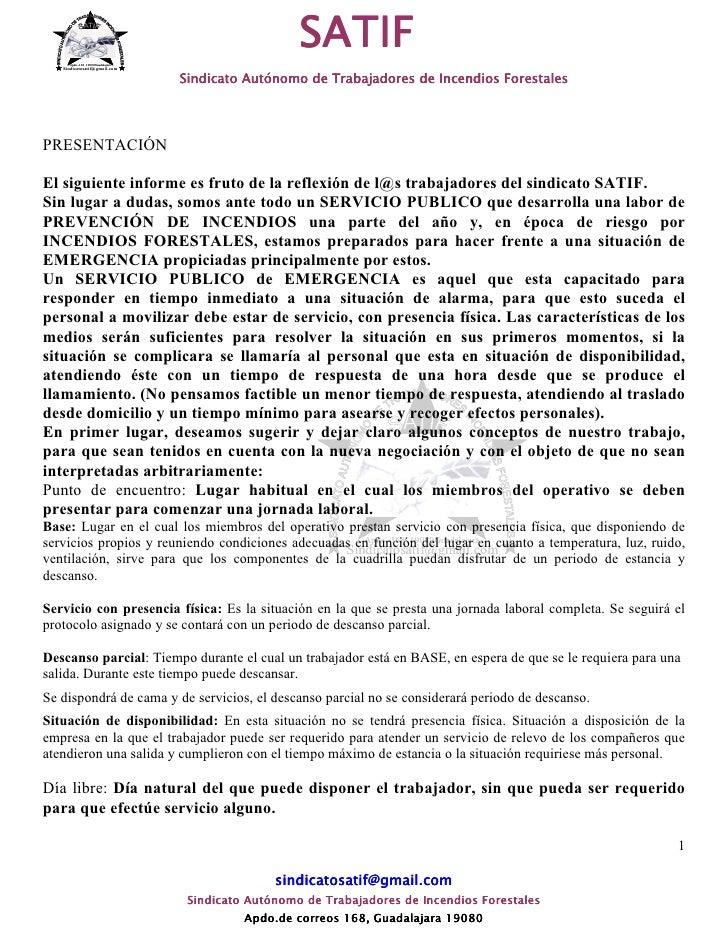 Apdo.-168 19080Guadalajara                                                      SATIF    Sindicatosatif@gmail.com         ...