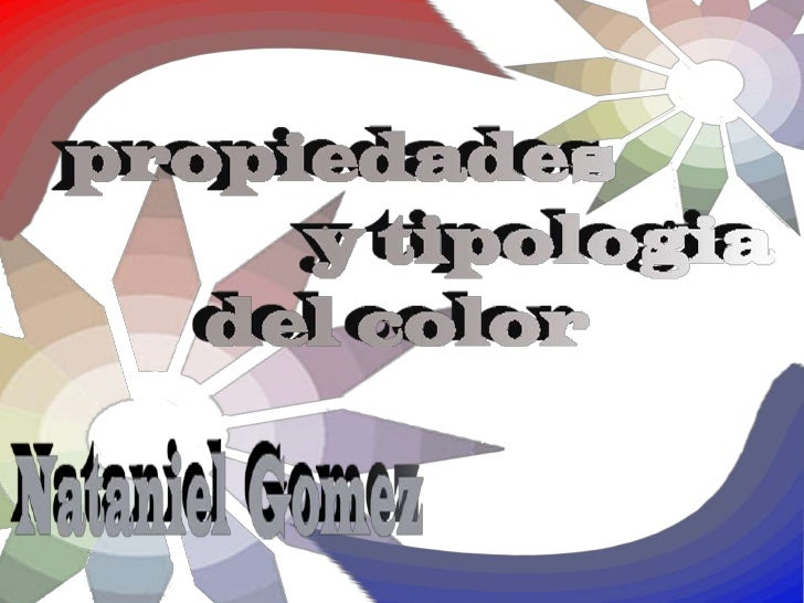 Son tres elementos diferentes quehacen único un determinadocolor, varían su aspecto y definen suapariencia final.Están bas...