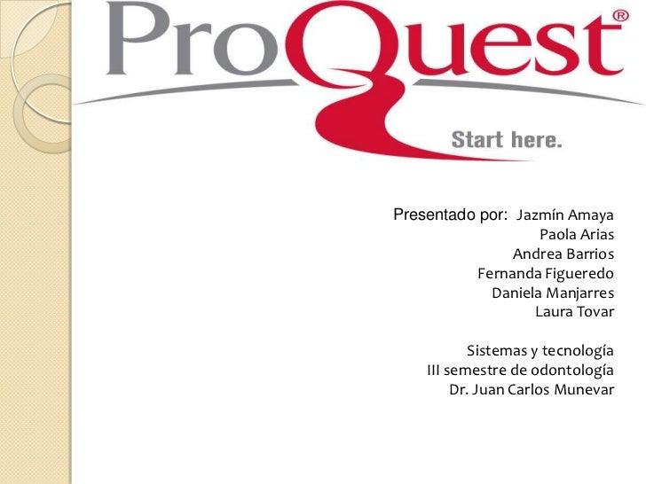 Presentado por:  Jazmín Amaya<br />Paola Arias <br />Andrea Barrios<br />Fernanda Figueredo<br />Daniela Manjarres<br />La...