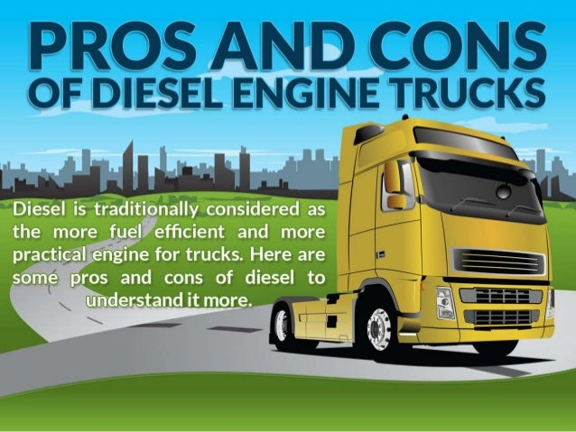 pros and cons of diesel engine trucks. Black Bedroom Furniture Sets. Home Design Ideas