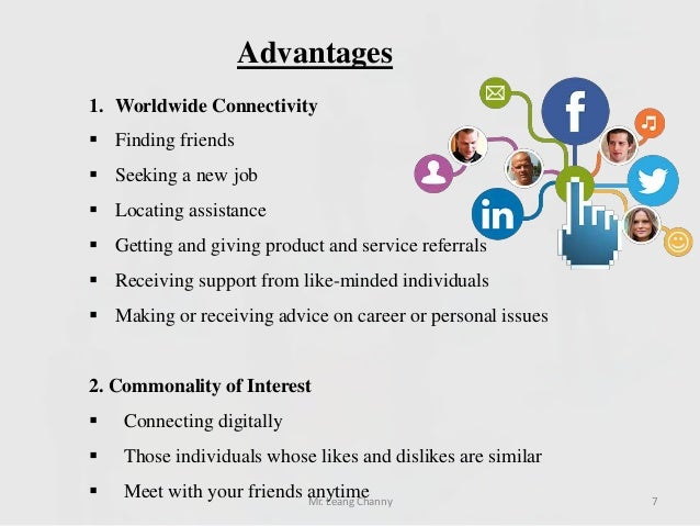 cons of advertising through social network 75 benefits of social media marketing  we've ran social media advertising  50% of shoppers have made a purchase based on a recommendation through a social.