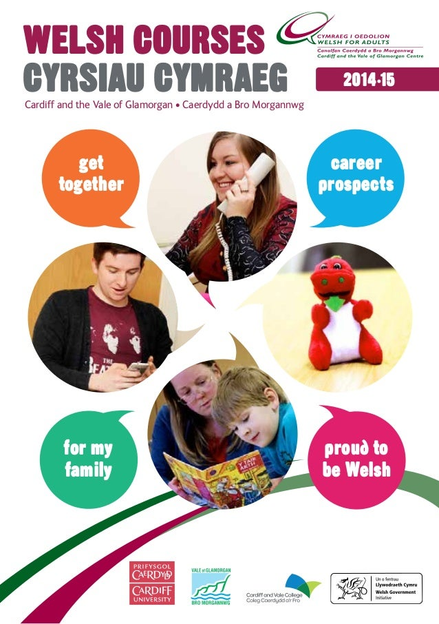 Learn Welsh at the Cardiff and the Vale of Glamorgan Welsh for Adults Centre