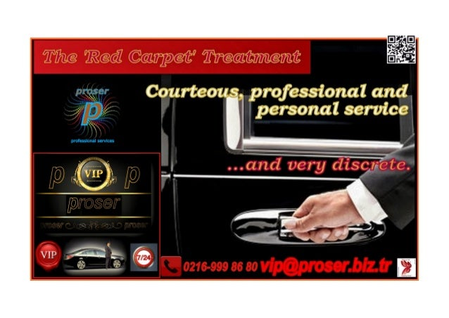 Proser utilizes Chauffeurs and Vehicles that are Certified by the Municipality of Istanbul for the VIP Transfers and Chauf...