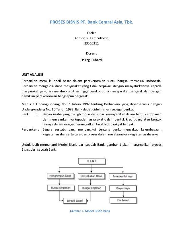 Proses bisnis bca1
