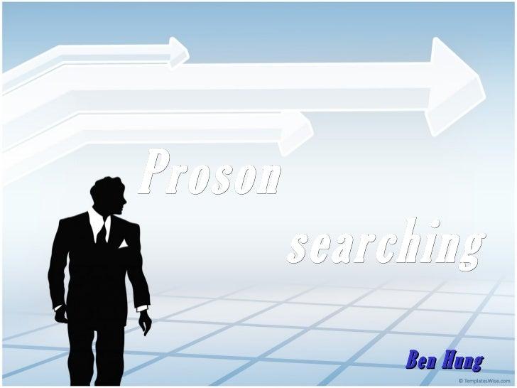 [Searching Weekend] Ben Hung -