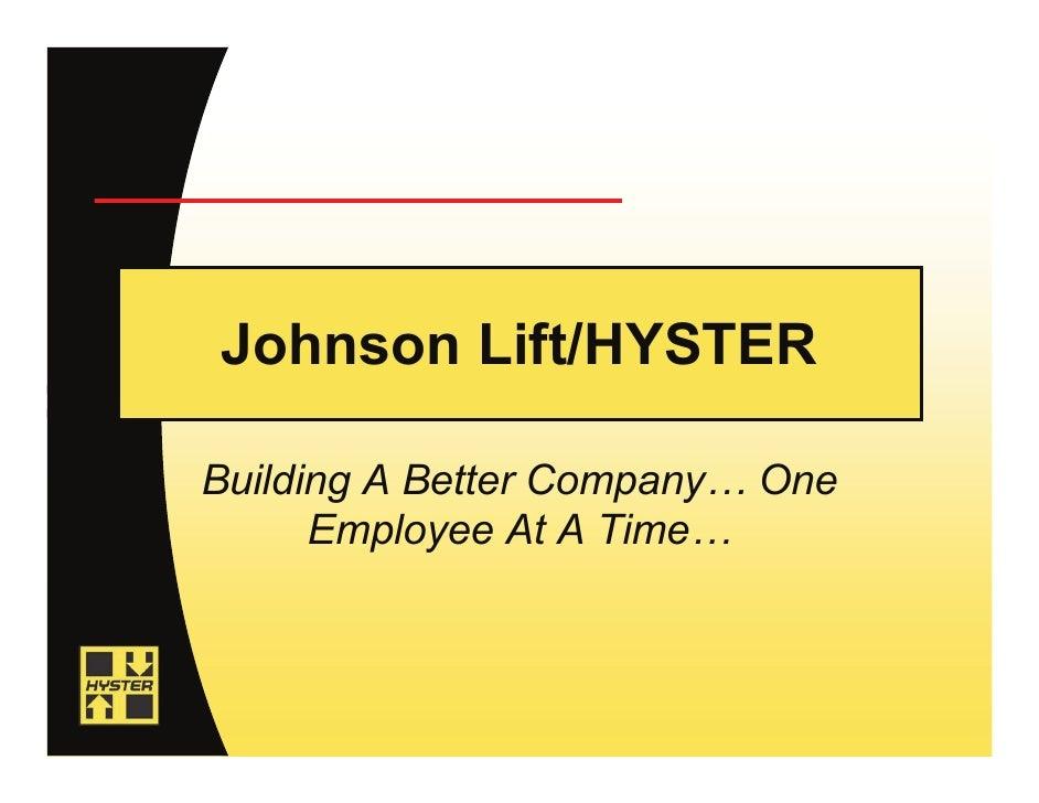 Prospective Salesperson Presentation Industry Info