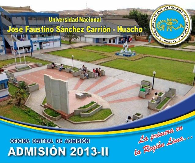 ARGONAUTAS PROSPECTO DE ADMISION 2013-II