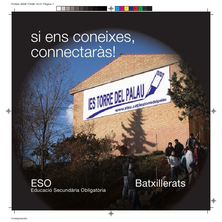 Institut Torre del Palau de Terrassa, Barcelona: característiques del centre educatiu