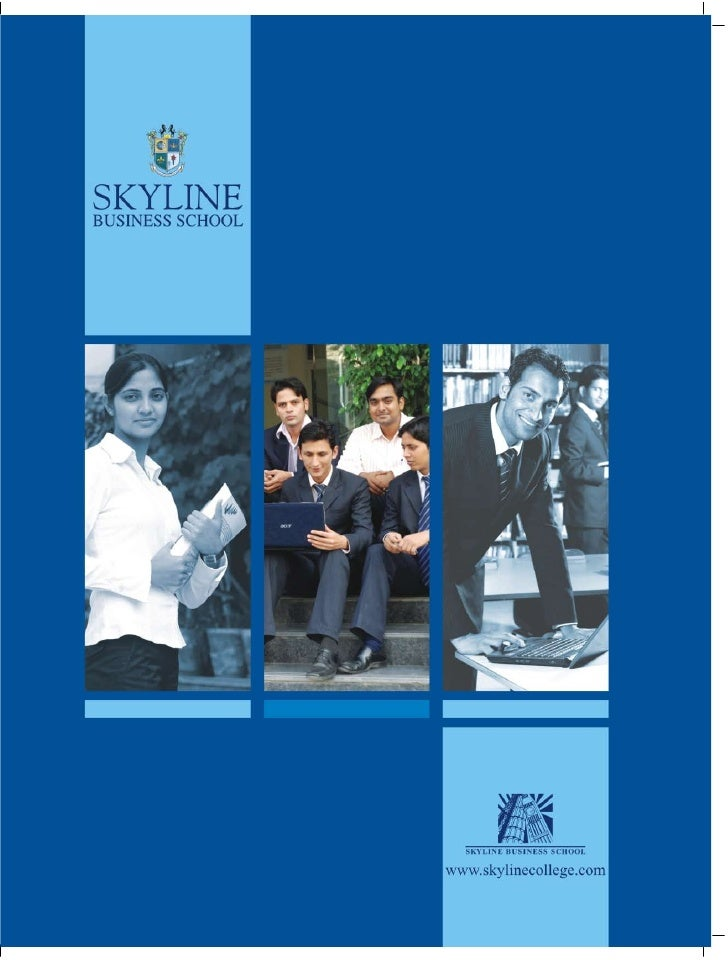 Mission  The mission of Skyline Education  Group is to provide its students  with the best professional career  prospects ...