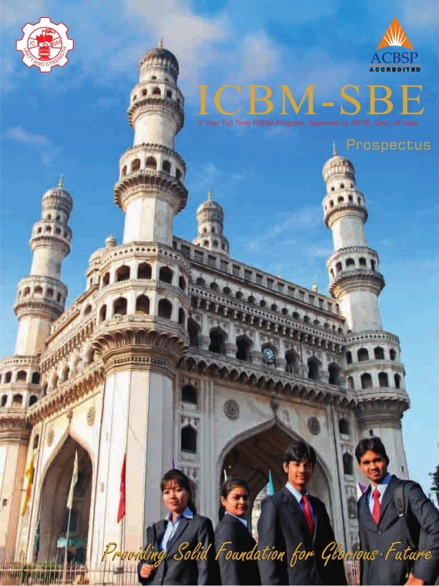 OUR CREDENTIALS          ICBM-SBE has a proven track record of 24 years of Academic Excellence, since its inception in 198...