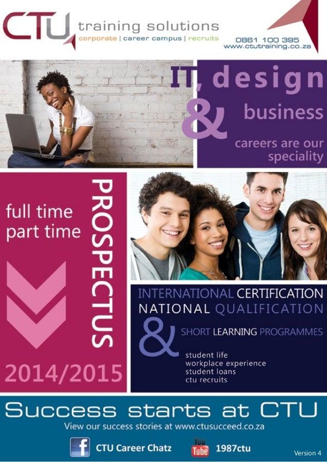 CTU Prospectus 2014/15