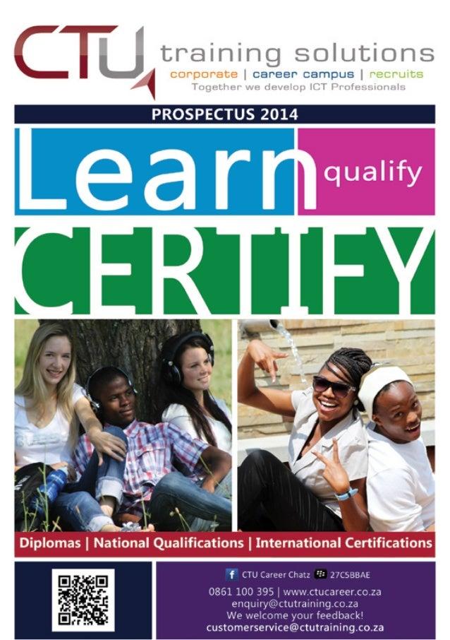 CTU Prospectus 2014