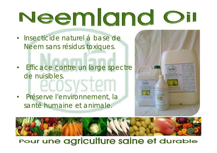 • Insecticide naturel á base de  Neem sans résidus toxiques.• Efficace contre un large spectre  de nuisibles.• Préserve l'...