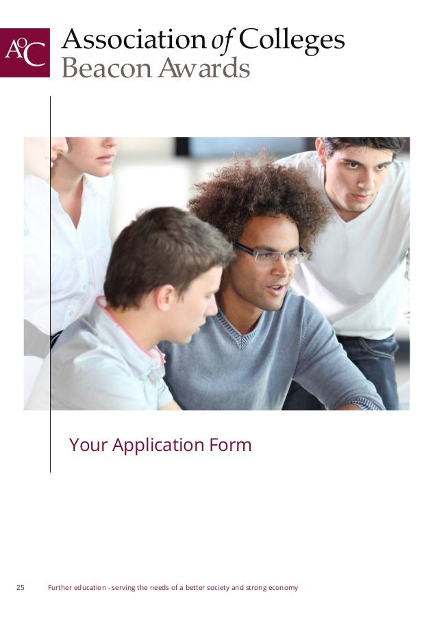 AoC Beacon Awards 2014-15 - How to Apply