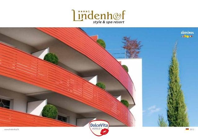 www.lindenhof.it   2012