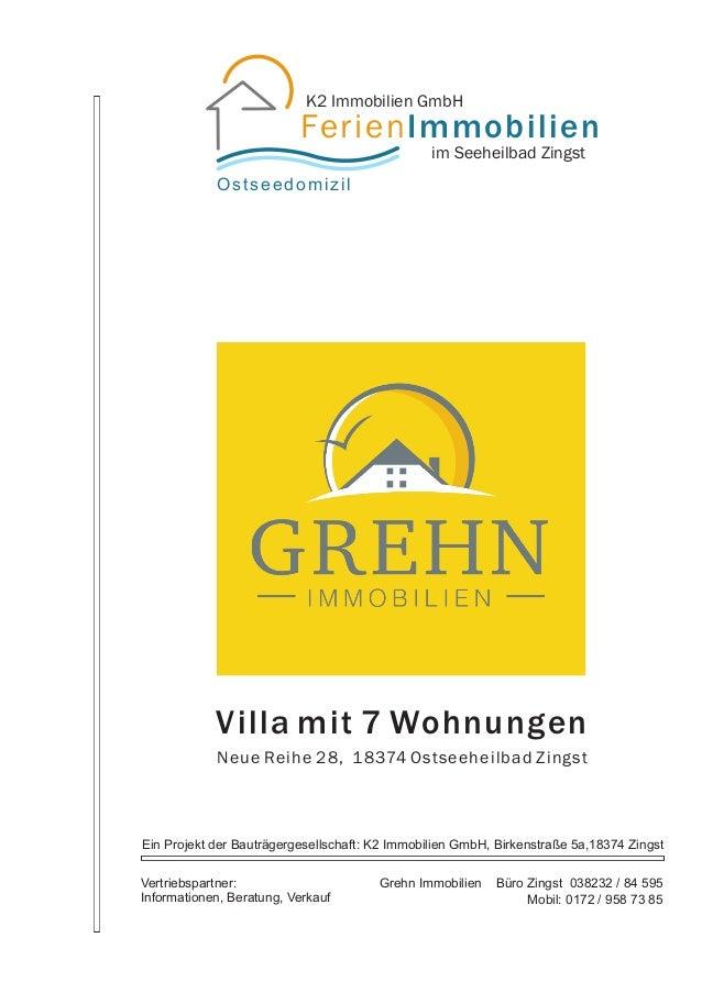K2 Immobilien GmbH                          FerienImmobilien                                                im Seeheilbad ...