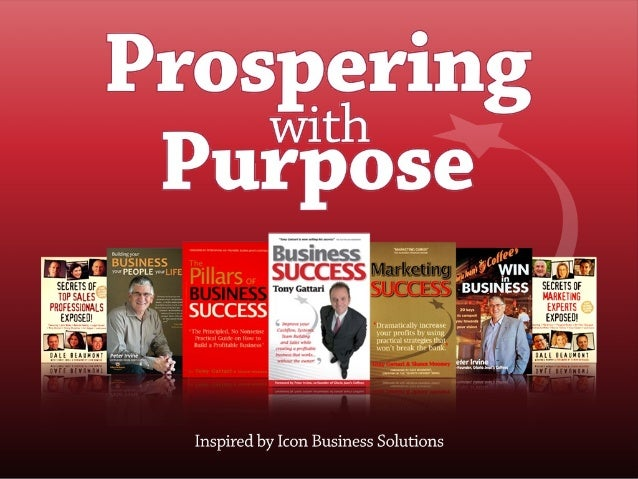 Prospering with Purpose