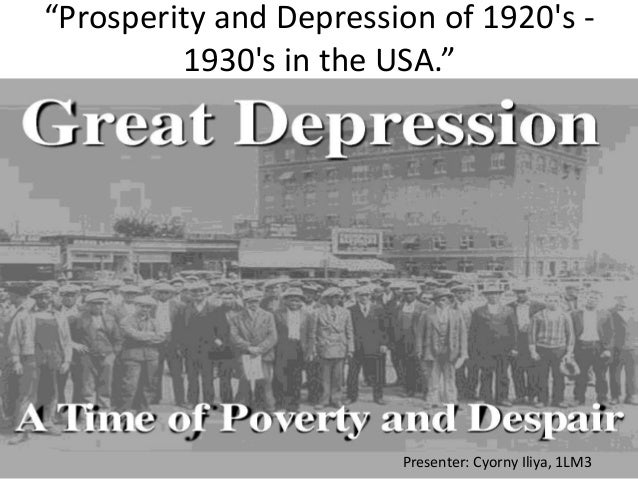 an in depth analysis of the causes of the great depression of the 1930s The length and depth of a country's  during the great depression of the 1930s as  great depression: an inquiry into the causes,.