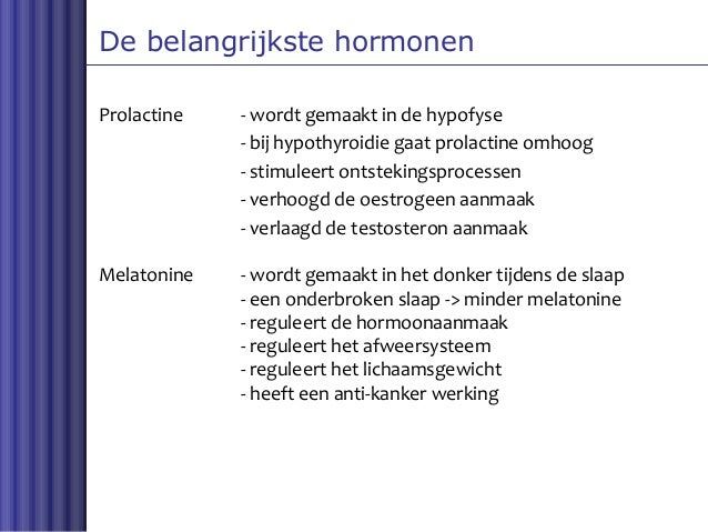 klachten hypofyse