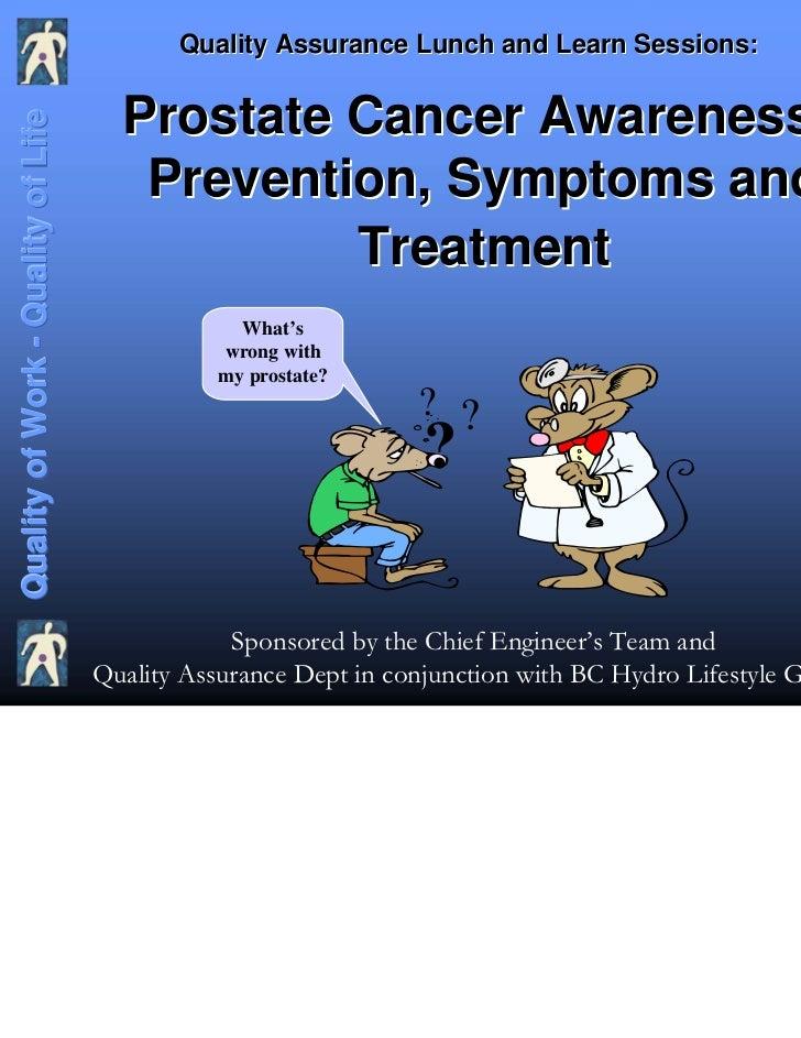 Prostate cancer presentation 2007