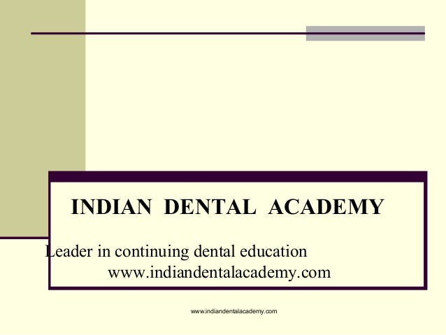 Prosthodontic management of acquired defects of mandible123 /certified fixed orthodontic courses by Indian dental academy